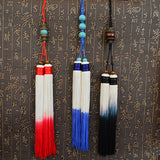 Gentleman Long Sword Tassel With Pearls In 3 Colors - Wudang Store