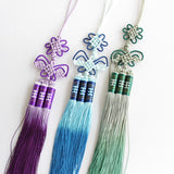 Traditional Hand-Woven Kung Fu Sword Tassel 3 Colors - Wudang Store