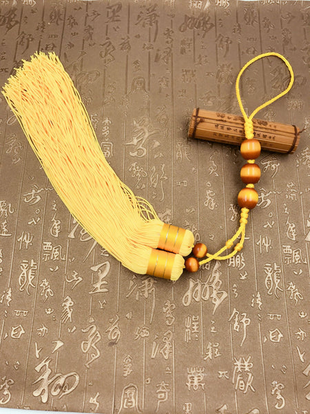 Chinese Beewax Beads Kung Fu Sword Tassel 3 Colors - Wudang Store