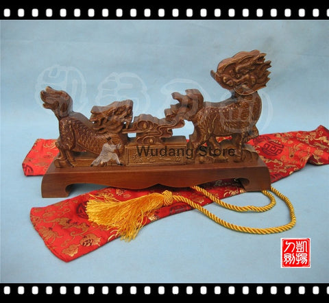 Longquan Brown Fire Dragon Sword Rack