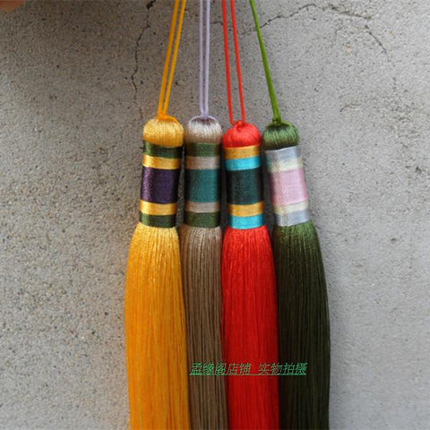 Hanmade Colorful Chinese Sword Tassel 6 Colors - Wudang Store