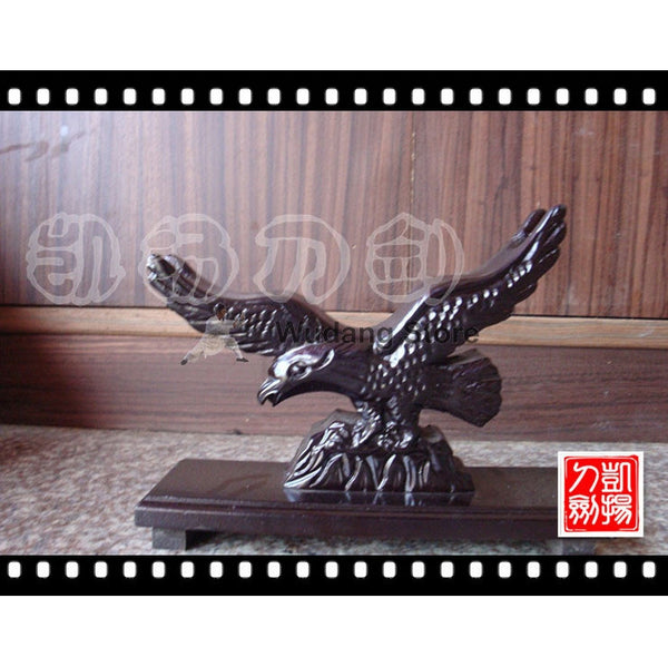 Wooden Eagle Tai Chi Sword Rack