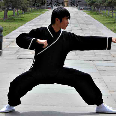 Black Wudang Taoist Kung Fu Uniform