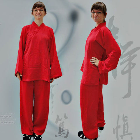 Red Taoist Uniform
