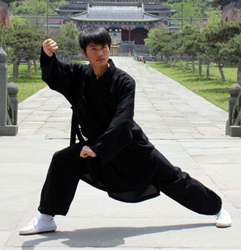 Traditional Black Taoist Uniform