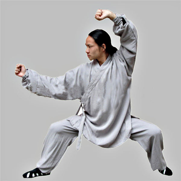 Grey Taoist Uniform