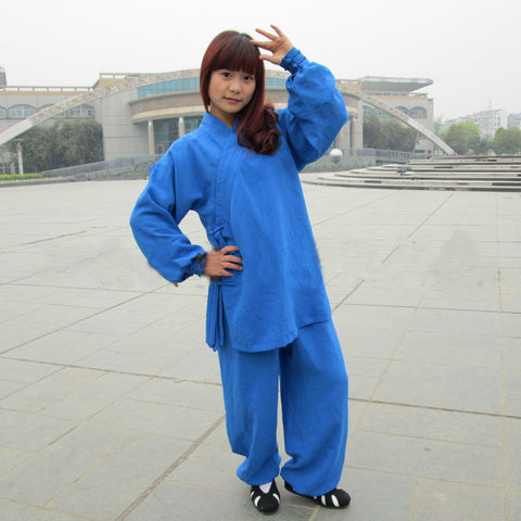 Azure Blue Taoist Uniform