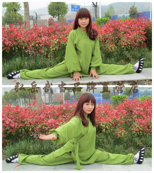 Green Taoist Uniform