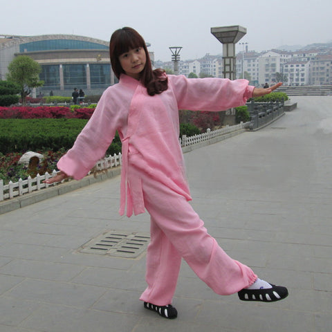 Light Pink Taoist Uniform