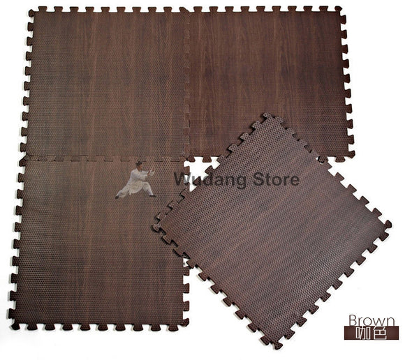 Wood Imitation Trainings Mats