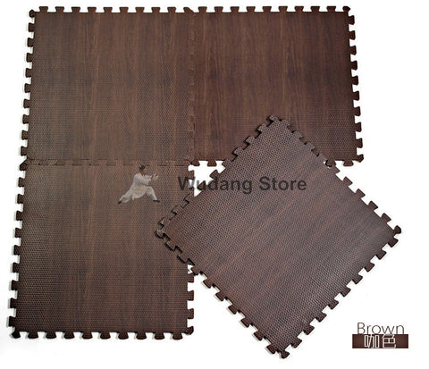 Wood Imitation Trainings Mats - Wudang Store