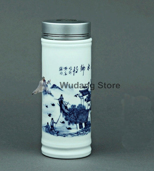 Traditional China Bone Drink Bottle