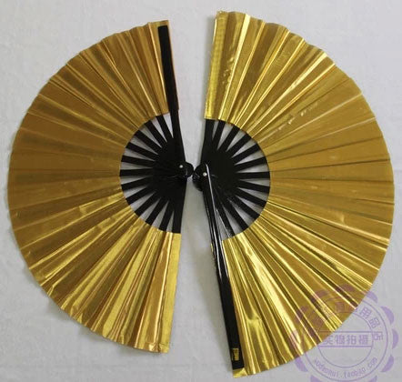 Plain Tai Chi Fan Gold - Wudang Store
