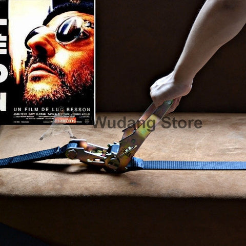 Easy Workout Belt Fastener from Léon The Professional Inspired - Wudang Store