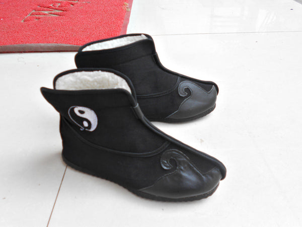 Traditional Taoist Winter Boots - Wudang Store