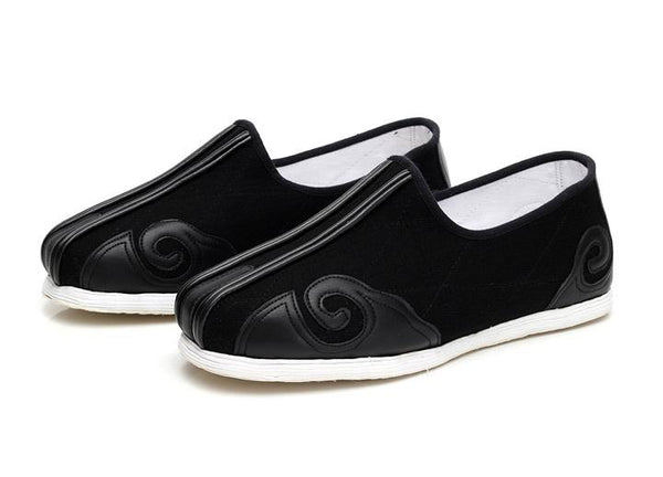 Traditional White Cloth Sole Wudang Taoist Shoes
