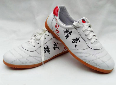white tai chi shoes