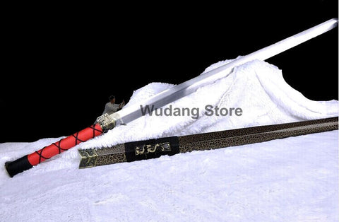 Chinese Traditional Brown Han Tai Chi Jian - Wudang Store