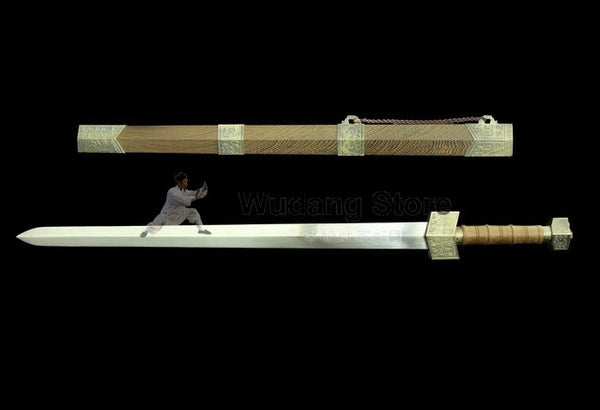Tai Chi Ancient Hero Jian by Quanjian Forge - Wudang Store