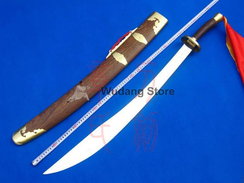 Adjustable Rosewood Kung Fu Dao