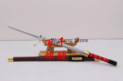 Classic Dark Red Han Dynasty Jian