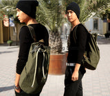 Simple & Solid Kungfu Canvas Bag - Wudang Store