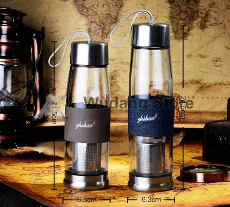 High Quality Outdoor Bottle with Tea Strainer - Wudang Store