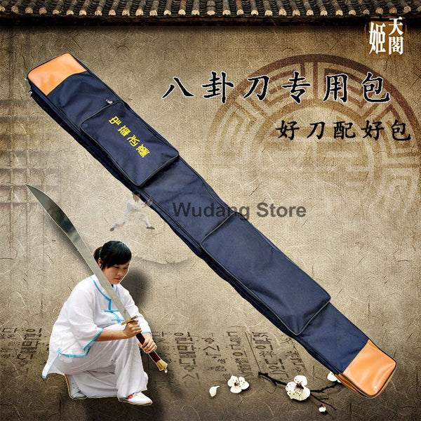 Huge Canvas Bagua Dao Carrying Bag