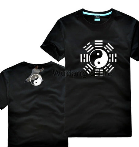 Cotton Bagua T-Shirt 4 Colors - Wudang Store