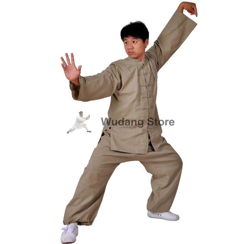 Beige Tai Chi Uniform