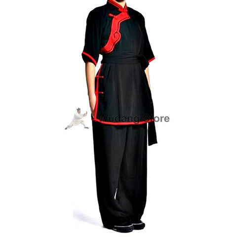 Black & Red Tai Chi Performance Uniform - Wudang Store