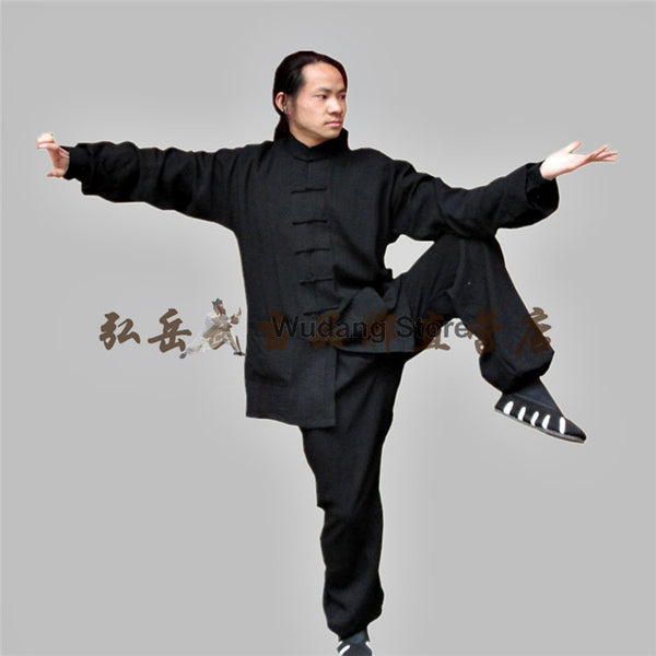 Black Tai Chi Uniform - Wudang Store