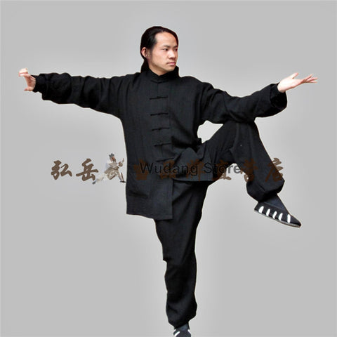 Black Tai Chi Uniform