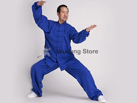 Azure Blue Tai Chi Uniform