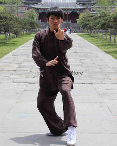 Brown Tai Chi Uniform