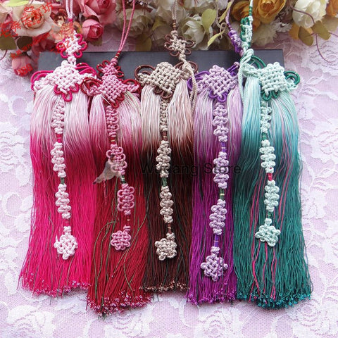 Colorful Hand-Woven Tai Chi Sword Tassel