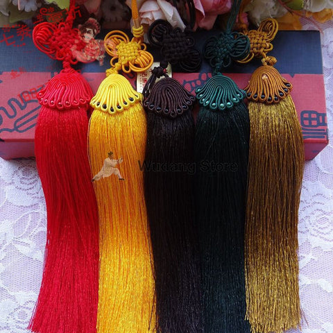 Hand-Woven Traditional Chinese Sword Tassel - Wudang Store