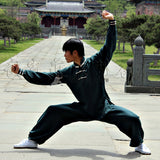 Oak Green Tai Chi Uniform 3 Buttons
