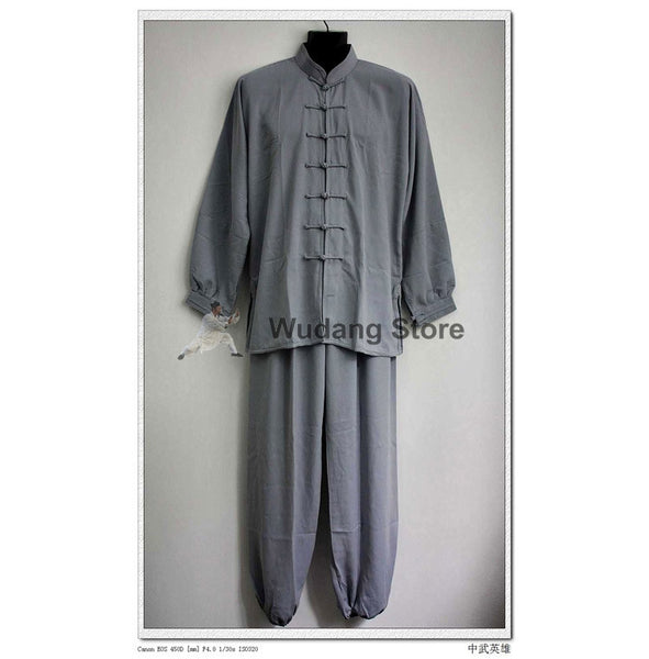 Grey Tai Chi Uniform