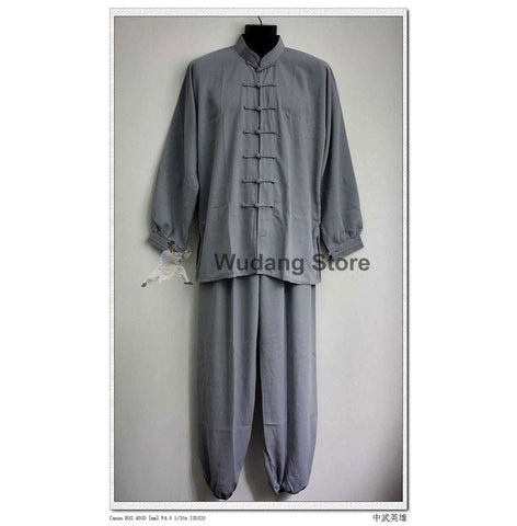 Grey Tai Chi Uniform - Wudang Store