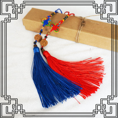 Chinese Wudang Sword Tassel Blue or Red - Wudang Store
