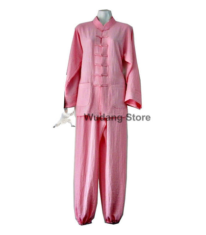 Light Pink Tai Chi Uniform