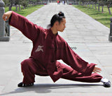 Maroon Tai Chi Uniform