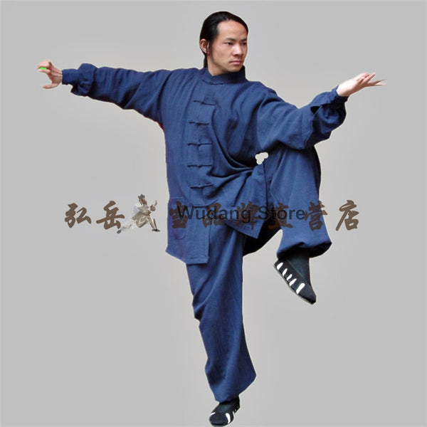 Navy Blue Tai Chi Uniform