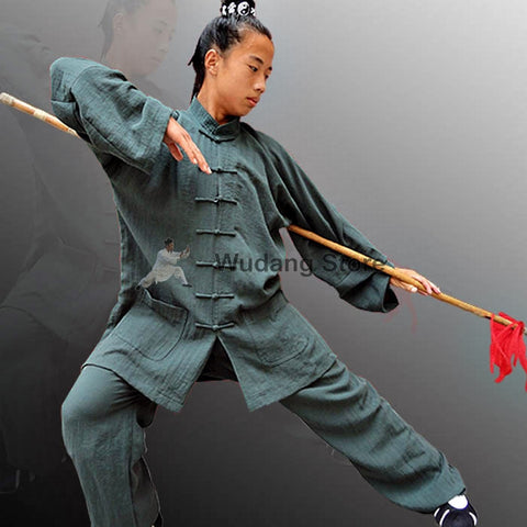 Oak Green Tai Chi Uniform - Wudang Store
