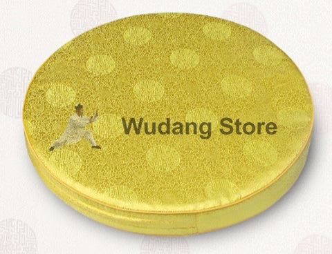 Round Brocade Seat Cushion in 2 Colors - Wudang Store