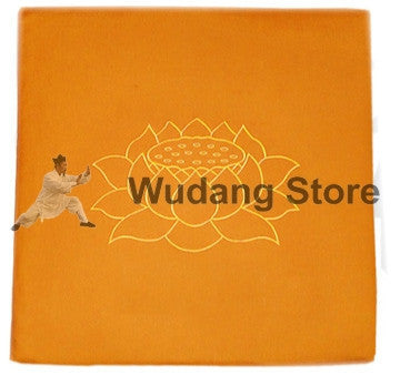 Square Lotus Seat Cushion in 2 Sizes and Colors - Wudang Store