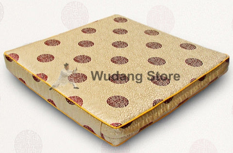 Square Brocade Seat Cushion in 2 Sizes and Colors - Wudang Store