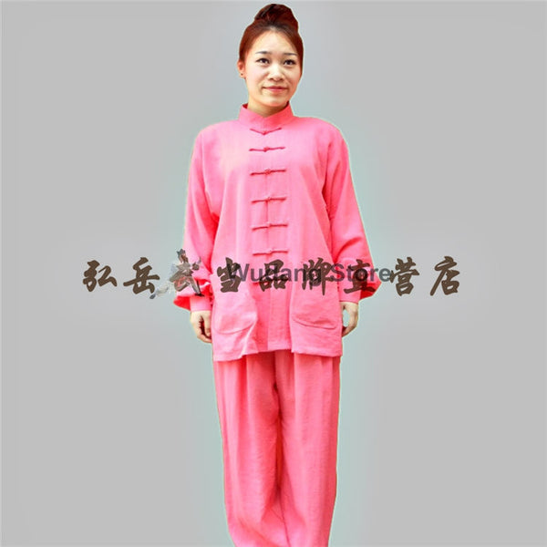 Pink Tai Chi Uniform