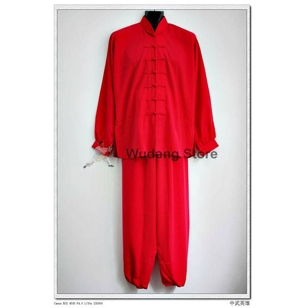 Red Tai Chi Uniform - Wudang Store